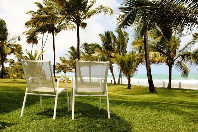 Beach freedom holidays, travel vacation.