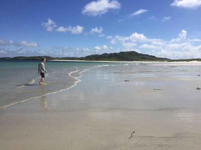 Beach lewis uig, travel vacation.