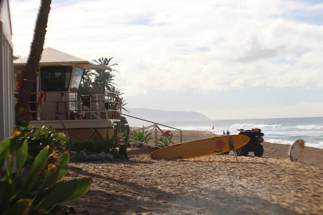 Beach life guard hawaii, travel vacation.