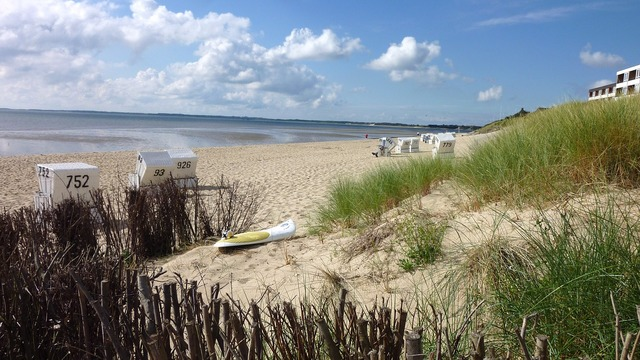 Beach north sea dunes, travel vacation.