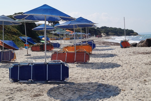 Beach sand sandy beach, travel vacation.