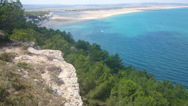 Beach sea blue, travel vacation.