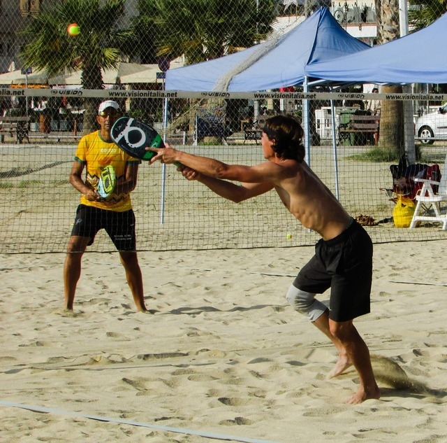 Beach tennis sport sand, sports.