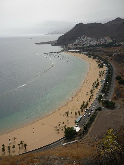 Beach teresitas santa, travel vacation.