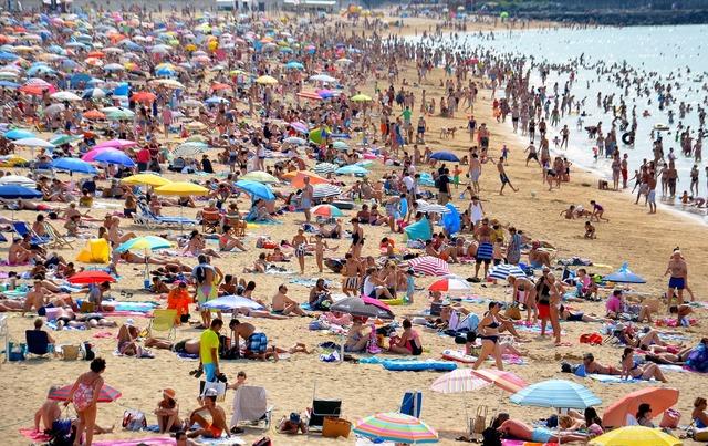 Beach world sun, travel vacation.