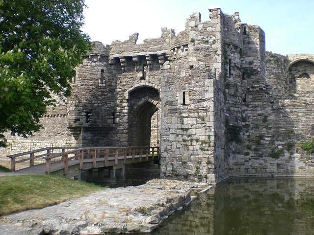 Beaumaris castle anglesey.