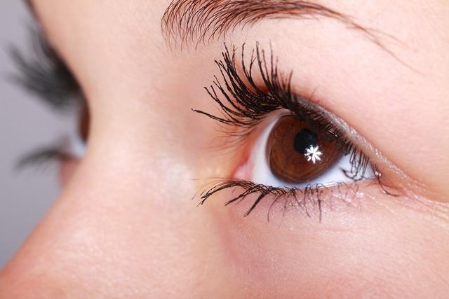 Beautiful close-up eye, people.