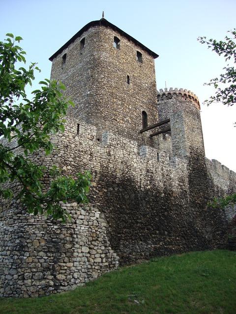 Będzin poland castle, architecture buildings.