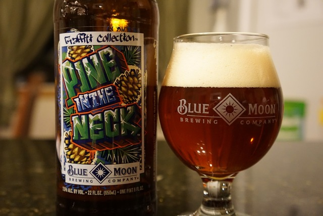 Beer hops blue moon.