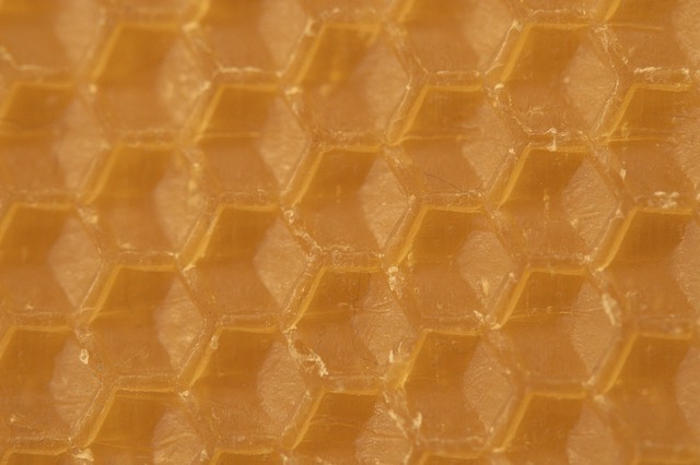 Beeswax combs honeycomb, backgrounds textures.