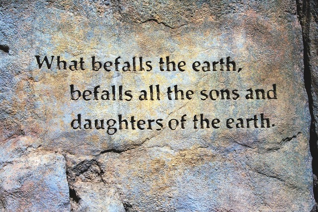 Befall the earth quote rock wall earth quote, backgrounds textures.