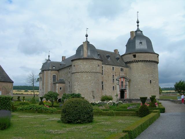 Belgium chateau castle, architecture buildings.