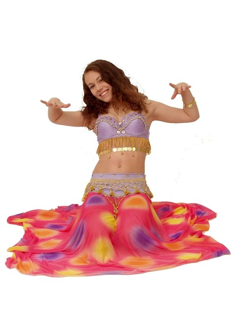 Belly dance oriental, sports.