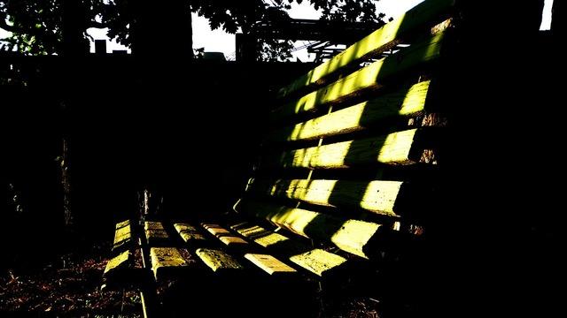 Bench park seat.