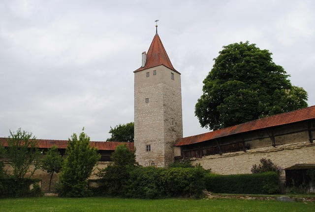 Berching altmühl valley defensive tower.
