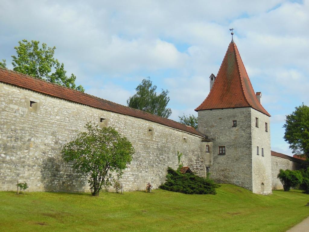 Berching altmühl valley defensive tower.