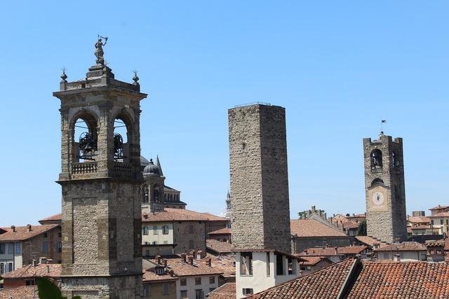 Bergamo lombardy italy.