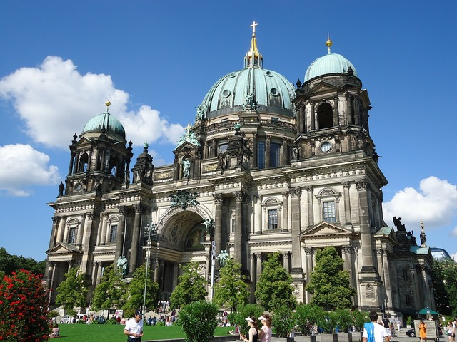Berlin cathedral berlin old, architecture buildings.