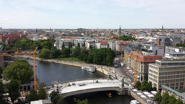 Berlin district river.