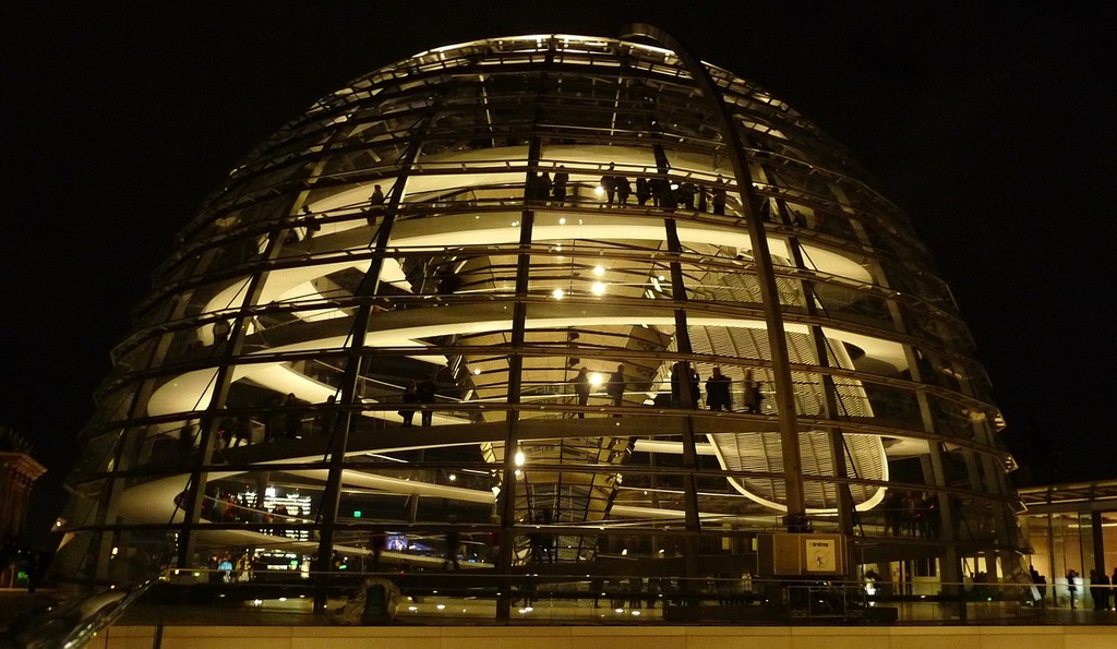 Berlin dome bundestag, architecture buildings.