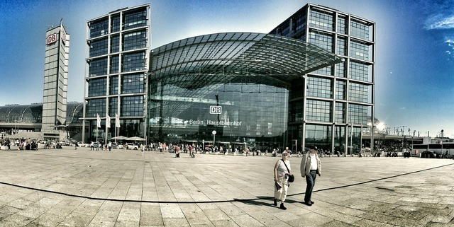 Berlin germany central station, travel vacation.