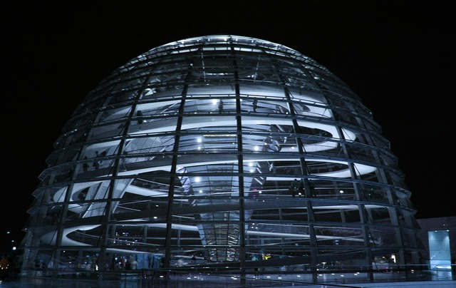 Berlin glass dome bundestag.