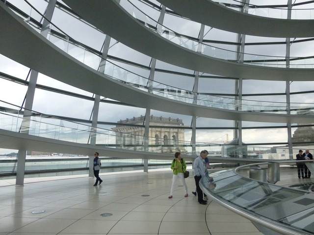 Berlin glass dome reichstag, architecture buildings.