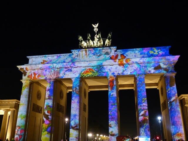 Berlin goal landmark, places monuments.