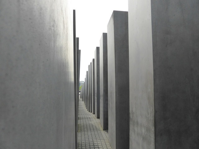 Berlin holocaust memorial, architecture buildings.
