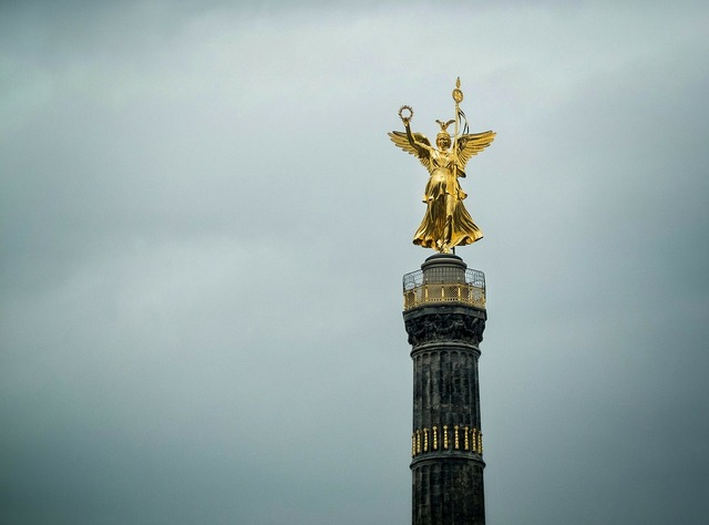Berlin siegessäule gold else, places monuments.