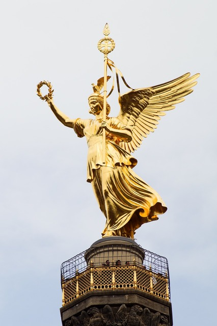 Berlin siegessäule landmark, places monuments.