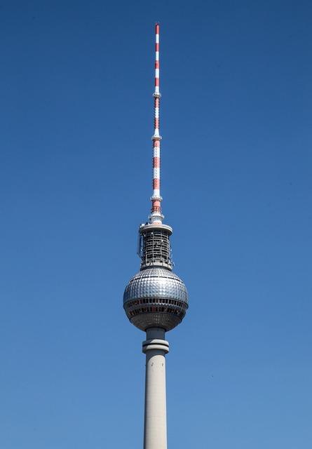 Berlin tv tower berlin tv tower, architecture buildings.