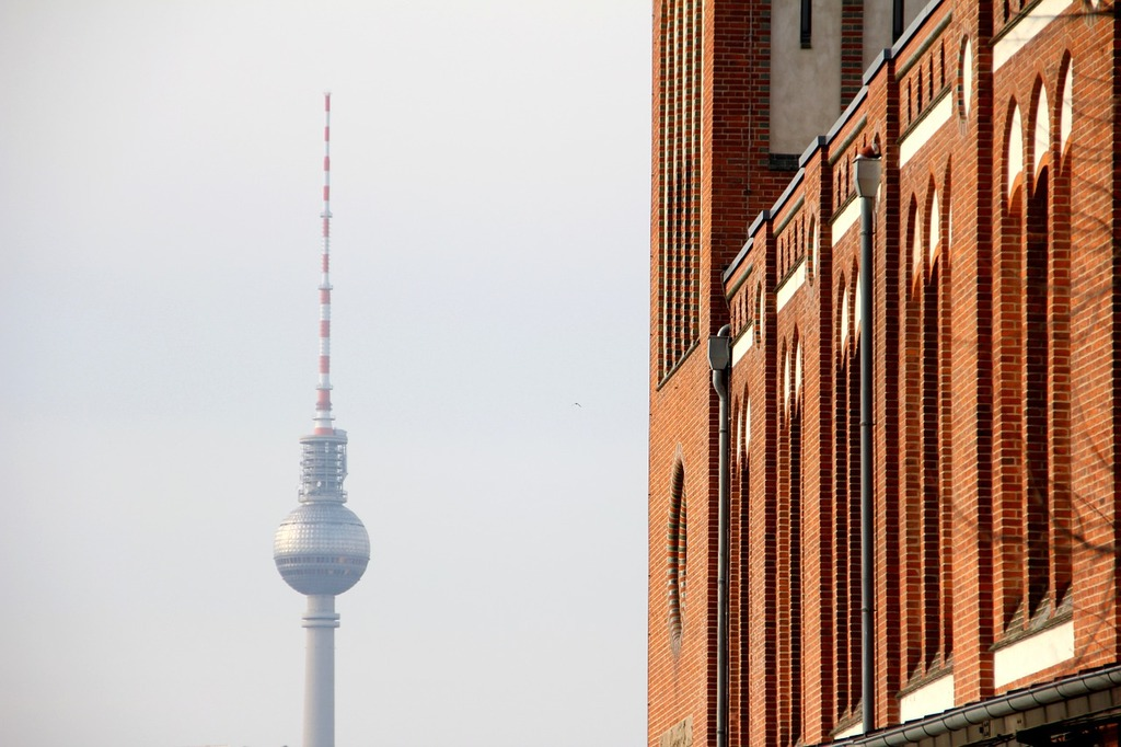 Berlin tv tower germany, places monuments.