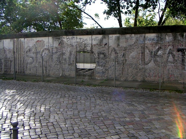 Berlin wall fragment berlin.