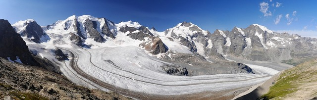 Bernina-panorama rhätikon graubünden, travel vacation.