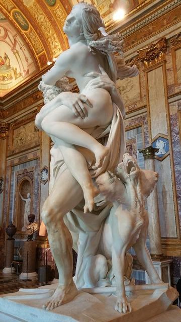 Bernini galleria rome.