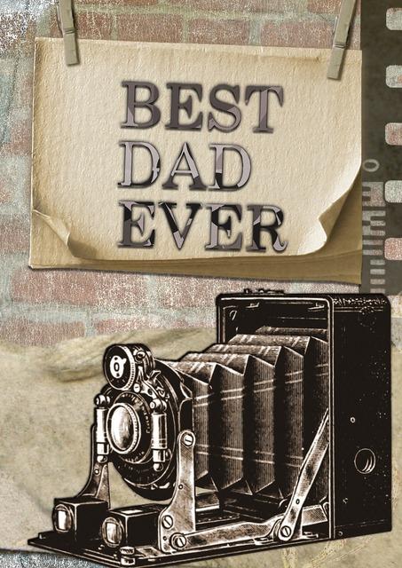 Best dad ever, people.