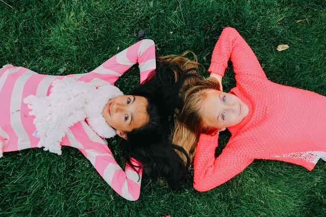 Best friends childhood girls, people.