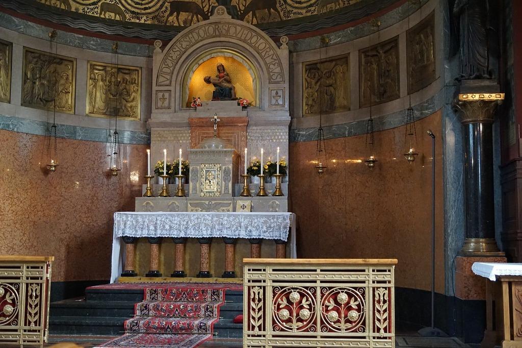 Beuron church monastery, religion.