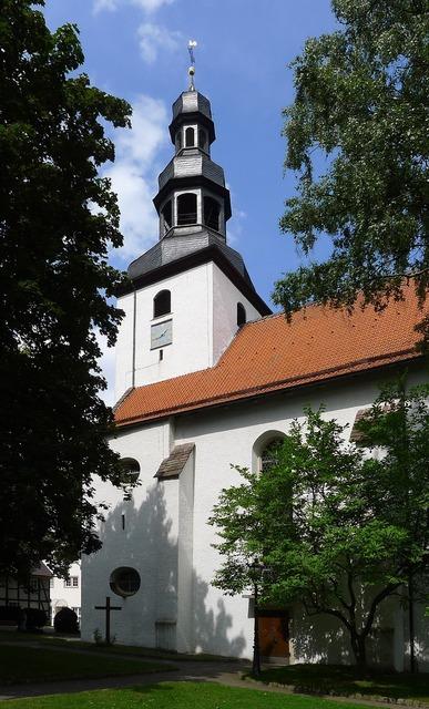 Beverungen church cultural heritage, religion.