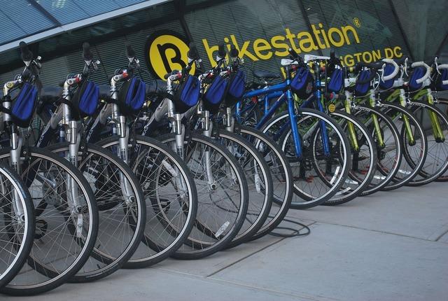 Bicycle bike rent.