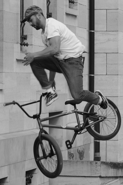 Bicycle bmx sports, people.