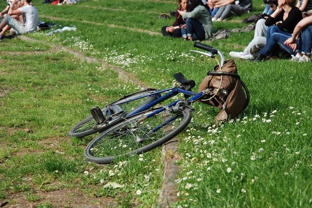 Bicycle park sunday.
