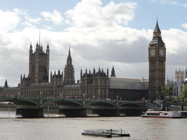 Big ben london england.
