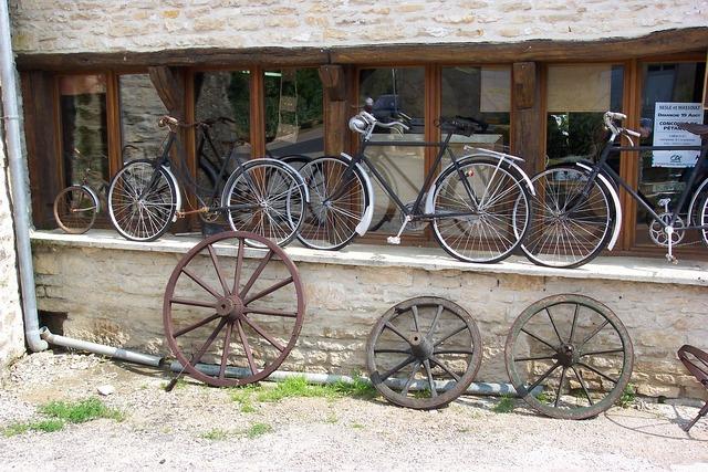Bike flea market old.