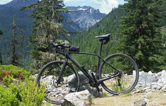 Bike mountains exercise.