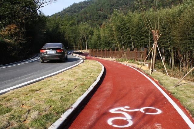Bike path road bike road, transportation traffic.