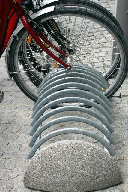 Bike rack bicycle, transportation traffic.