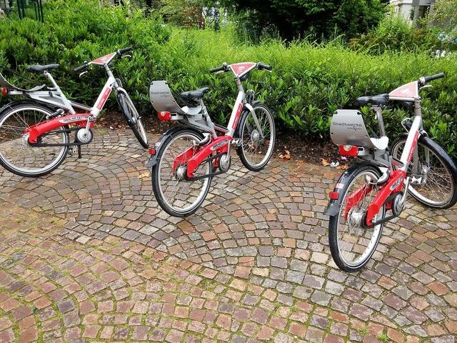 Bike rental bike environment, industry craft.