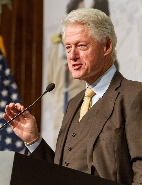 Bill clinton president united states.